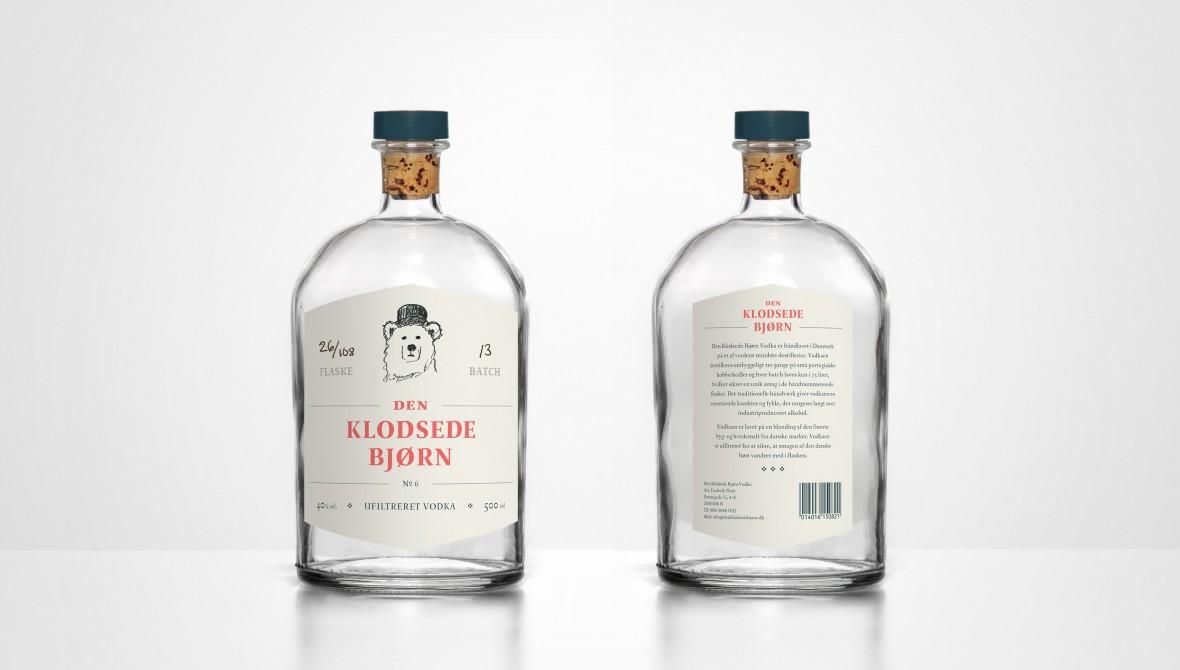 Den Klodsede Bjørn Vodka